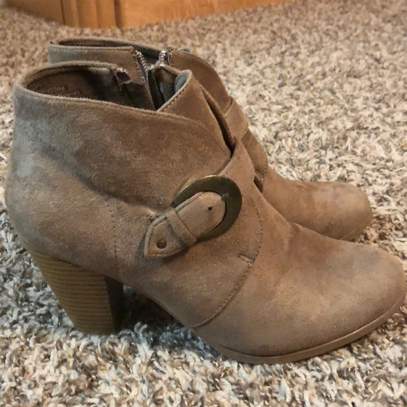 Maurices Shoes - Tan boots
